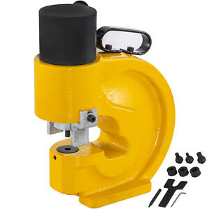 35t 4 Aperture Hydraulic Hole Punching Machine For Iron Metal Copper Plate Tool