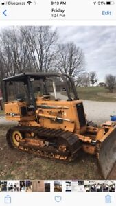 Case 550 H Lt New Undercarriage Has 200 Hrs On Undercarriages 4870 Hrs On Dozer