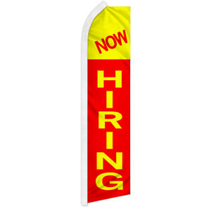 Now Hiring Advertising Swooper Feather Flutter Flag Jobs Available Here Hiring