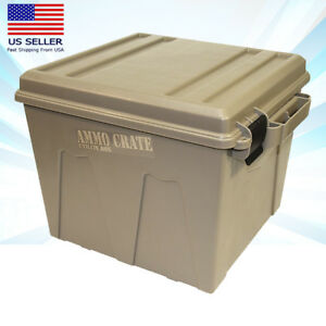 New Lage Ammo Crate Utility Box MTM ACR12-72 for Dry Storage of Gear