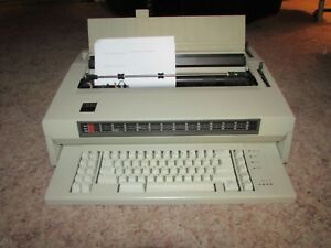 Vintage Ibm Wheelwriter 5 Electric Typewriter With Correction Minty Nice Orig