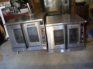 Used Garland Commercial Double Stack Convection Oven Nat Gas Master Series