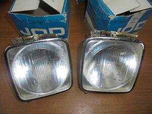 Fiat 125 2nd Series Pair Lights Interior Brights Cart Jod H1 New