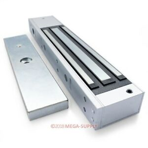 Electric Magnetic Lock 280kg 600lb Iron And Wooden Door Access Control Use