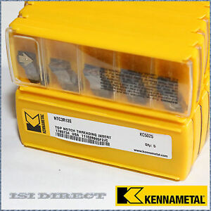 Ntc3r12e Kc5025 Kennametal 10 Inserts Factory Pack