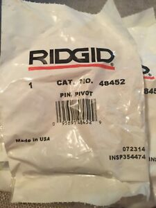 Genuine Ridgid 48452 Pivot Pin To 916 Roll Groover