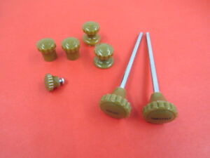 New 1937 Ford Deluxe Dash Knob Set 78 9270 b
