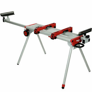 48 08 0550 New Universal Miter Saw Stand 9 5 119 Fully Extended Milwaukee