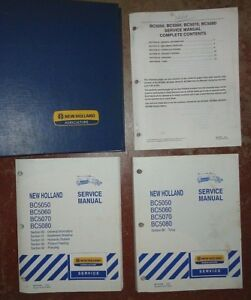 New Holland Bc5050 Bc5060 Bc5070 Bc5080 Square Baler Service Repair Manual Oem