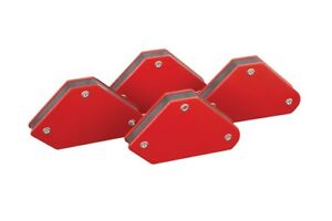 10lb Small Welding Magnet Right Angle Square Holder Soldering Durable 4pk