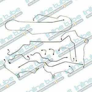 Late 2000 2005 Chevrolet Blazer Gmc Jimmy 4wd Brake Line Kit 1 4 Stainless