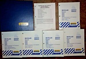 New Holland Boomer 3040 3045 3050 Tractor Service Repair Manual W cvt Cab Oem