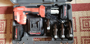Ridgid Propress Rp 200 b Hydraulic Battery Crimper Kit W 1 2 To 1 1 4