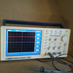 Owon Pds6062 60mhz Dual Channel Digital Storage Oscilloscope Pds 6062 2 Probes
