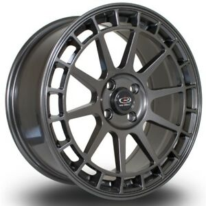 17x7 5 40 Rota Recce 4x108 Steel Gary Wheels Fits Ford Focus S Se Sel Ses Svt