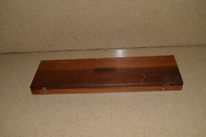 Starrett No 122 12 Vernier Caliper In Case st1