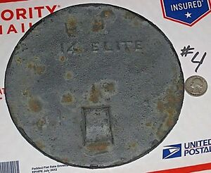 Antique Cast Iron 14 Elite Wood Cooking Stove Top 7 Warming Plate Burner Cover