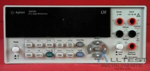 Hp Agilent Keysight 34410a 6 5 Digit High Performance Dmm
