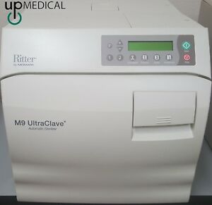 Ritter By Midmark M9 Ultraclave Automatic Sterilizer Only 24 Cycles