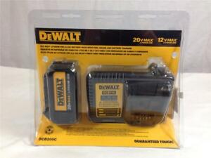 New Dewalt Dcb200c 20 volt Max 3 0ah Lithium ion Battery Pack With Charger