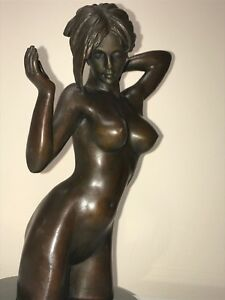 Sexy Art For Men Exotic Naked Girl Fit And Curvy Statue Sexy