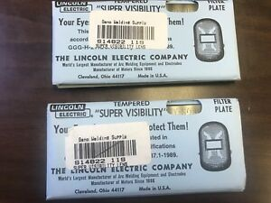 Vintage Lincoln Electric Super Visibility 8 11 12 Shade Filter Len