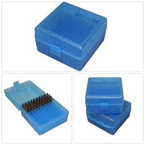 Ammo Box Plastic For .223 5.56 Reloading Storage Portable Transport 100 Rounds