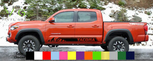 Toyota Tacoma Vinyl Decal Sticker Graphics Trd Sport Side Door X2 Any Color 005