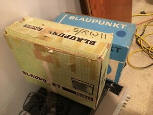 Blaupunkt Riviera Portable Radio Original Packaging And Paperwork