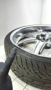 24 Inch 24x9 Devino Chrome Rim Wheel W Tire Other 4236