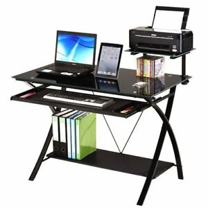 Modern Day Computer Desk Black