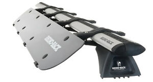 Rf2 Rhino rack Usa 38 Wind Fairing W Universally Fitting Clamps Reduces Noise