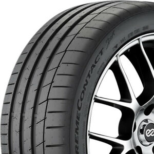 4 New 215 45 17 Continental Extremecontact Sport Tires 215 45 17
