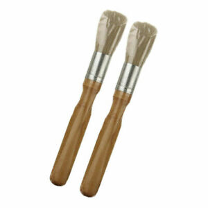 2x The Goat Boar S Hair Air Vent And Dash Detail Brush 6 Interior Exterior Tool