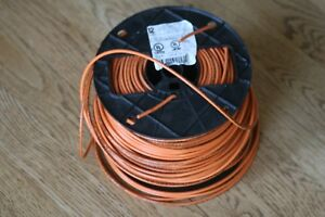 Southwire 22970801 500 ft 12 awg Stranded Orange Copper Thhn Wire By roll New