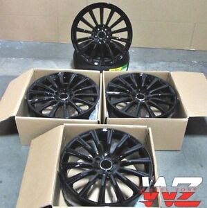 19 Staggered Wheels Rims Set For Mercedes S Class S550 S500 S400 Cl500 Cl600