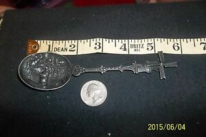 Antique Dutch Mechanical Windmill Crest Silver Spoon Hh 90 Marked