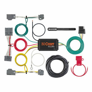 56386 Curt 4 way Flat Trailer Wiring Connector Harness Fits Volvo Xc70