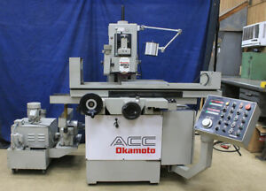 6 W 18 L Okamoto Acc 618dx3 New 1992 3 axis Automatic Surface Grinder Pro