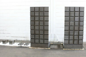 72 H 32 W Unknown 72 h X 36 w X 36 d Set Angle Plates T slotted 2 Direcection