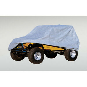 Rugged Ridge Weather Lite Full Jeep Cover For All Jeep Wrangler Cj7 Yj Tj 76 06