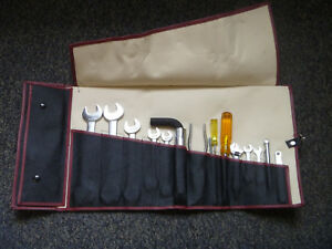 Aston Martin Db5 Db6 Tool Kit Roll Toolkit Complete With Original Tools