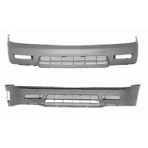 Fits 1994 1995 Honda Accord Sedan Front Bumper Cover 101 50442 Capa