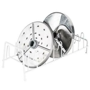 Robot Coupe R255 Disc Rack Free Standing Holds 8 Discs