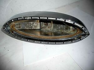 1960 1961 Plymouth Valiant Tail Lamp Housing Assembly