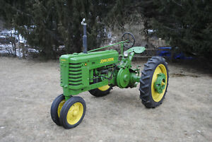1945 John Deere H Restored Electric Start hydraulics
