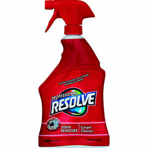 Resolve Professional Spot Stain Remover Carpet Cleaner 32 oz Bottle Case Of 12