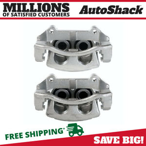 Front Brake Caliper Pair For 2006 2010 Jeep Commander 2005 2010 Grand Cherokee