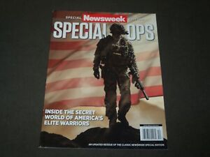 2015 NEWSWEEK MAGAZINE SPECIAL EDITION SPECIAL OPS COVER O 11633 $29.99