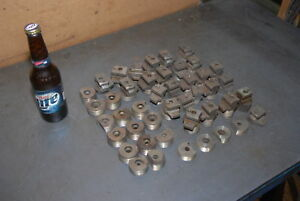 Huge Lot Of Roll Threading Thread Rolling Dies 43 Pieces Inv 28136